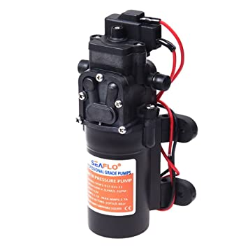 1.2GPM 12v ALL NEW SEAFLO 21-Series Water Pressure Diaphragm Pump 35PSI