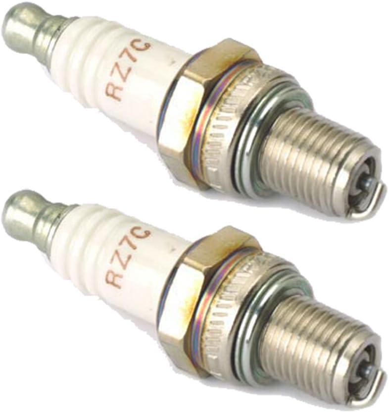 Champion 2 Pack of Genuine OEM Spark Plugs # RCJ7Y-2PK