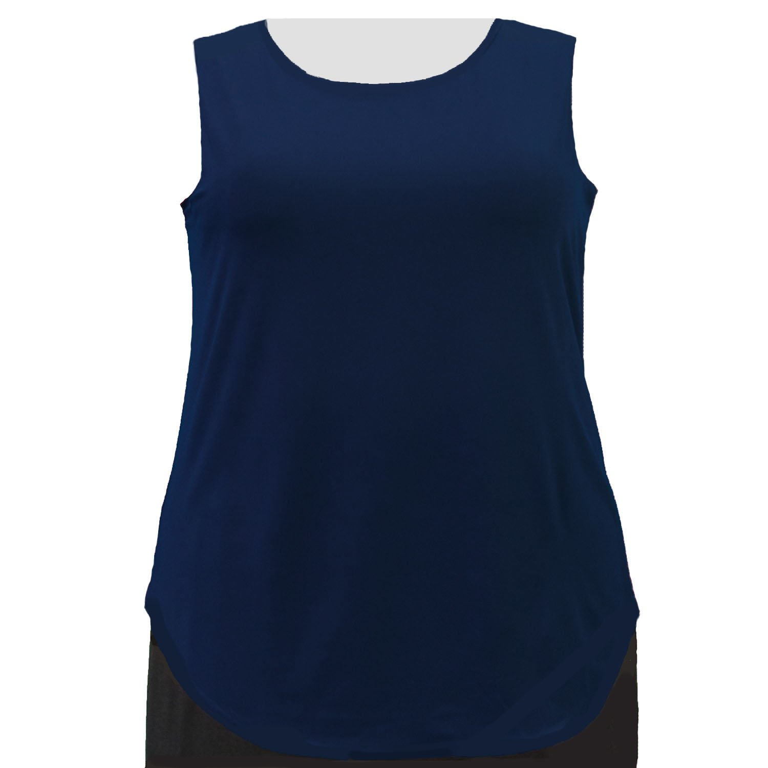 A Personal Touch Navy Tank Top Women's Plus Size Tank Top