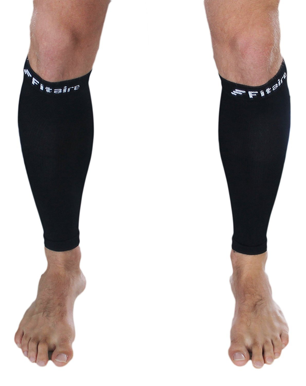 Calf Compression Sleeves (Pair) - Premium Quality Leg Sleeve, Helps Relieve Shin Splints. For Men and Women. Great for Running, Cycling and Walking. by Generic