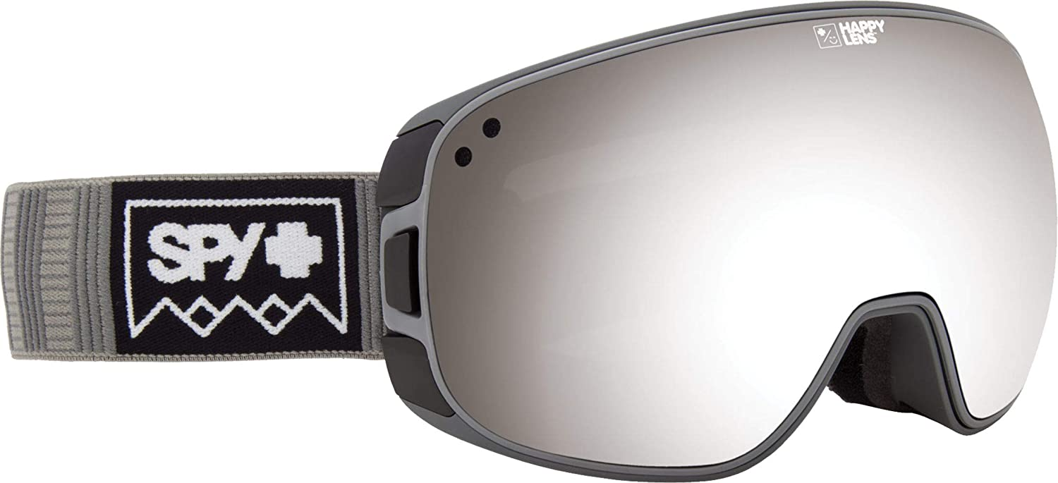 Some Styles with Patented Happy Lens Tech Snowboard or Snowmobile Goggle SPY Optic Bravo Snow Goggles Medium-Sized Ski