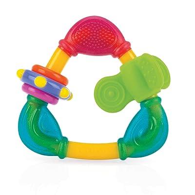 Nuby Spin N' Teethe Teether, Colors May Vary : Baby