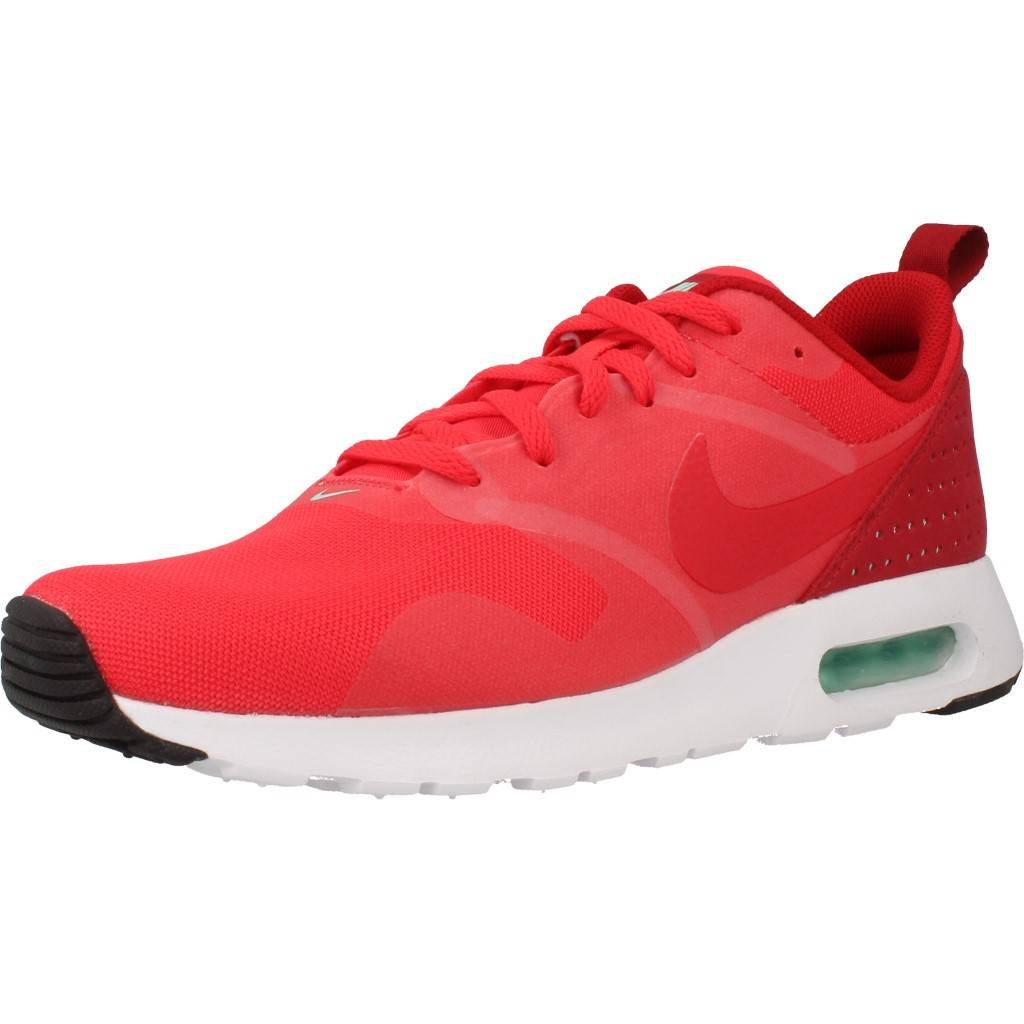 Nike Herren Air Max Tavas Laufschuhe  40 EU|Rot (Action Red/Action Red/Gym Red/White)