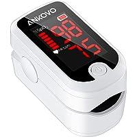 ANKOVO Oxímetro de Pulso en la Punta del Dedo, Pulsioximetro de Dedo, Monitor de Saturación de Oxígeno en Sangre en la…