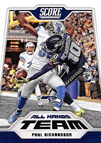 2018 Score All Hands Team #8 Paul Richardson Seattle Seahawks Football Card