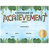 Creative Teaching Press Award Incentive Safari Friends Certificate of Achievement, Large  (2563)