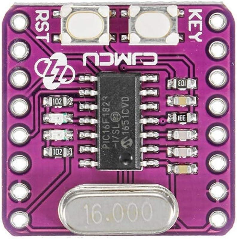 Yadianna 5 Pcs PIC16F1823 CJMCU-1286 Microcontroller Development Board Spot Steuermodul