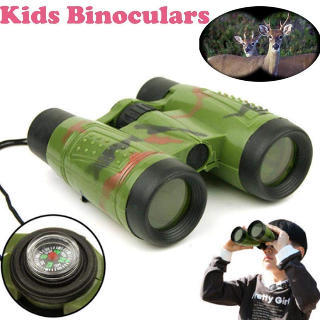 Livoty Magnification Toy Binocular Telescope Neck Tie Strap Lens Educational Toys for Child (Multicolor) by Livoty (Image #2)