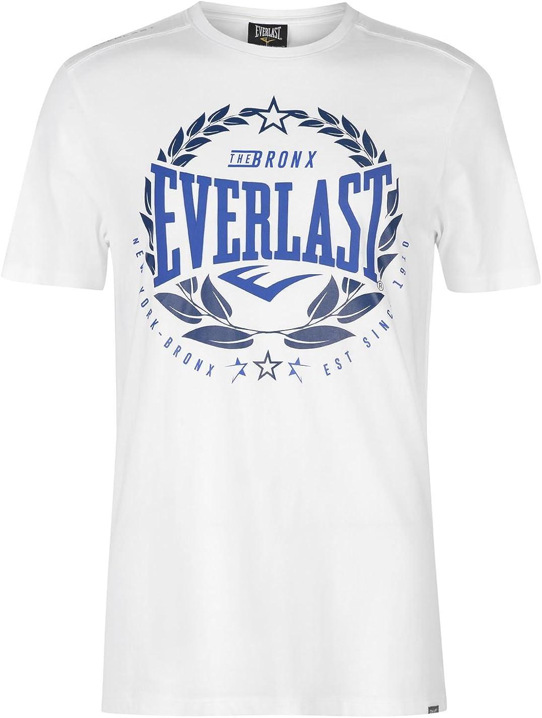 Everlast Hombre Laurel Camiseta Bianco Laurel S: Amazon.es: Ropa y ...