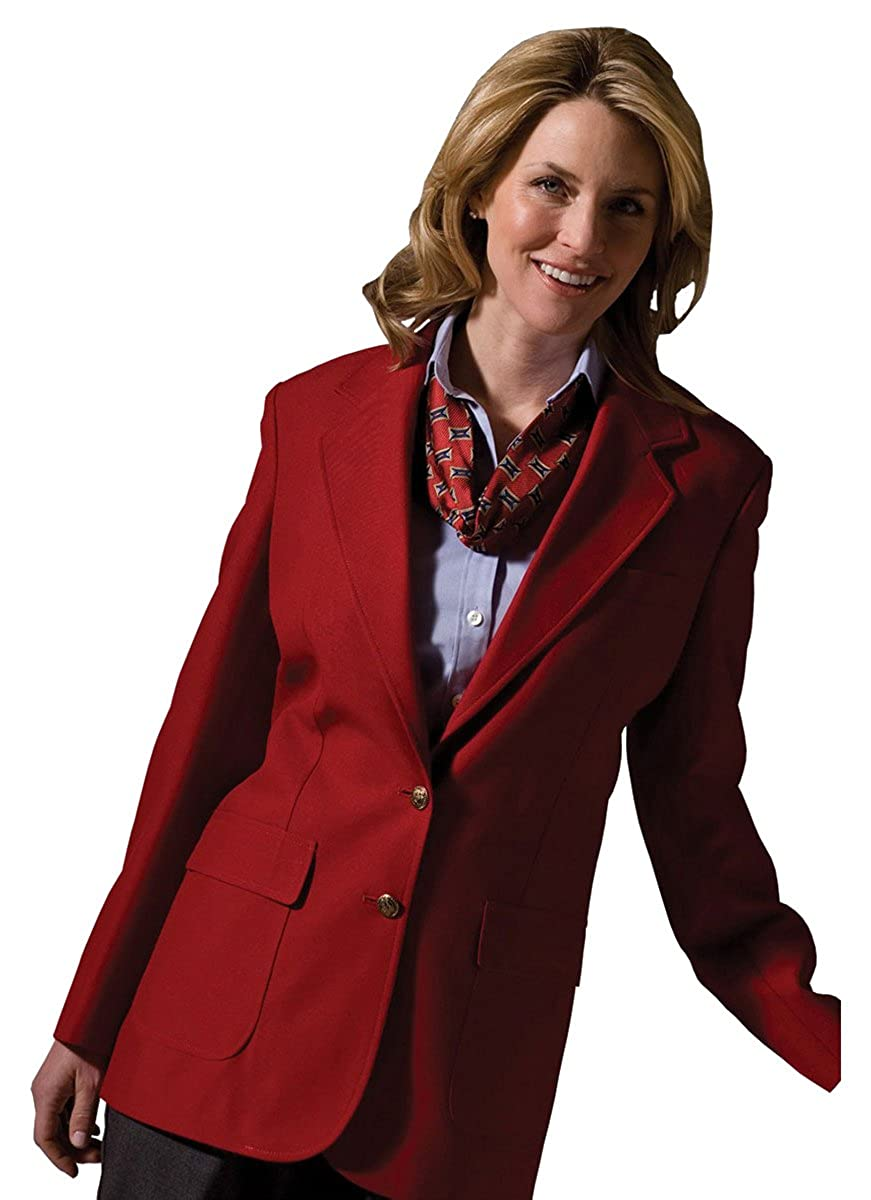 4 RED Ed Garments Womens Two Button Single Breasted Blazer