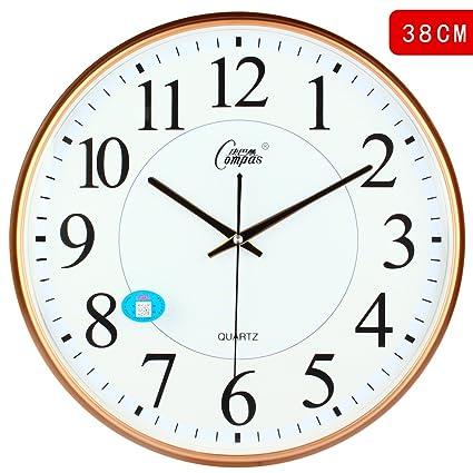 Amazon.com: CGGGHY The Living Room Creative Modern Clocks ...