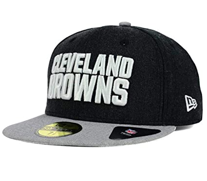 Amazon.com   New Era NFL Heather Action 59FIFTY Fitted Cap   Sports ... 7bb39985b