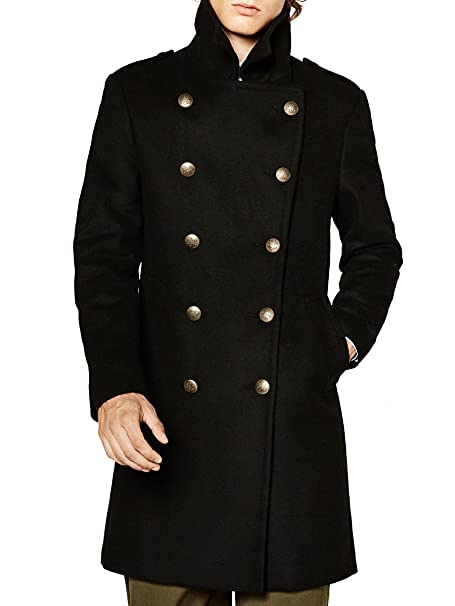 0169acdc Zara Men's Military style coat 5746/512 (X-Large): Amazon.ca ...