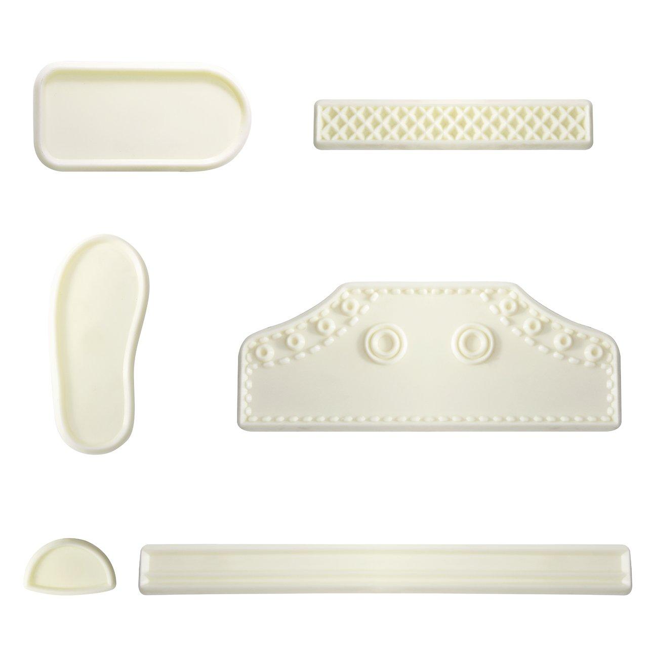 PME JEM 101CF008 High Cut Sneaker Cutter Set, White
