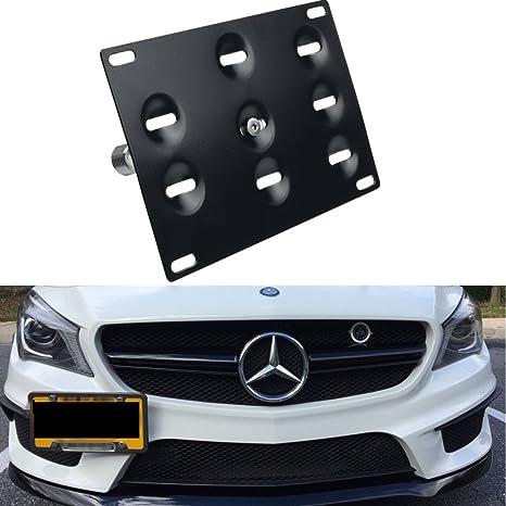 Front Bumper Tow Hook Eye Cover Cap For Mercedes W204 C200 C280 C300 C350 Primed