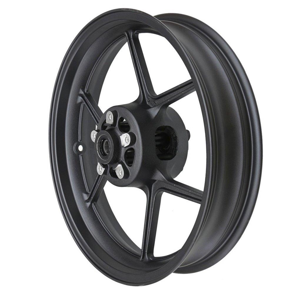 TDPRO Front Wheel Rim Hub For KAWASAKI ER6N ZX6R ZX10R Z1000SX Z750 (Matte Black)
