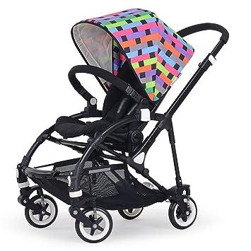 SED Trolley Niño Take A Walk Light Paraguas Coche Cuatro Ruedas Collision Folding Puede Estar acostado