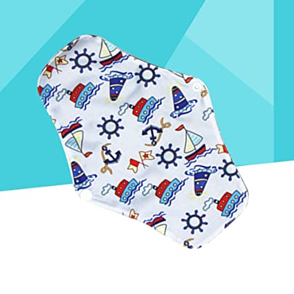 Yardwe Compresas Almohadillas Menstruales Reutilizables Toallas Sanitarias de Bambú Lavable Reutilizables: Amazon.es: Hogar
