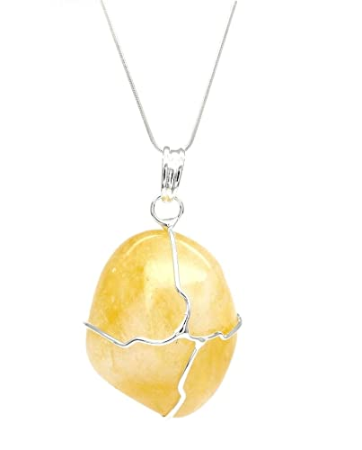 Citrine Pierre Stylish Naturelle Novembre Collierpendentif – Jewellery Porte Bonheur A4j35RLq