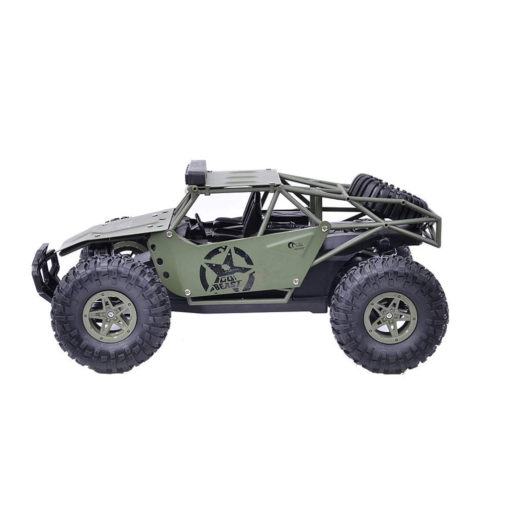 1/16 RC Rock Crawler 4WD Off Road RC Military Truck Rock Crawler 2.4G 12KM/H High Speed Remote Control Moster Truck RC Rock Cruiser Buggy Toy Cars Gift for Kids