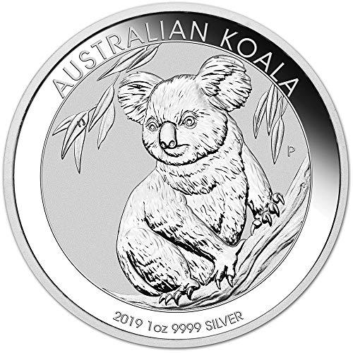 2019 AU Australia Silver Koala (1 oz) $1 Brilliant Uncirculated Perth ()