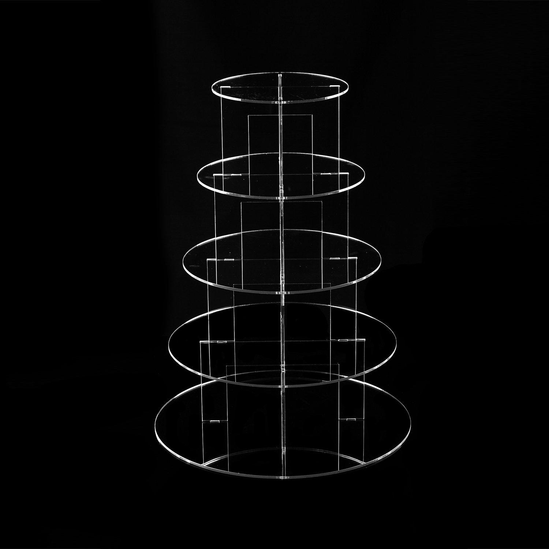 TRIXES 3-st/öckiger Kuchenstand zur dekorativen Ausstellung von Backwaren