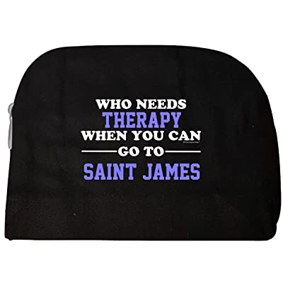 Who Needs Therapy When You Can Go To Saint James - Cosmetic Case