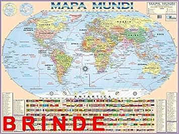 Globo Terrestre Político 30 Cm Diâmetro Brindes Mapa Mundi E Lupa Amazon Com Br Papelaria E Escritório