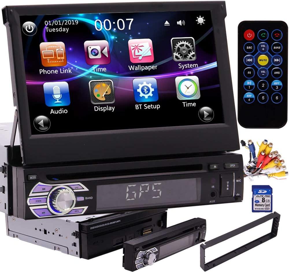 1 Din Autoradio Bluetooth Single Din Dvd Player In Dash Elektronik