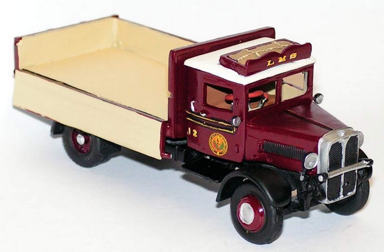 Langley Models AEC Majestuoso lado abatible/Camión de cama Plana OO Escala SIN pintar Kit de G186: Amazon.es: Juguetes y juegos
