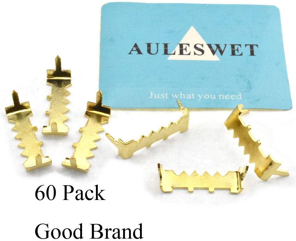 Amazon.com: Auleswet Sawtooth Hangers - Perchas para cuadros ...
