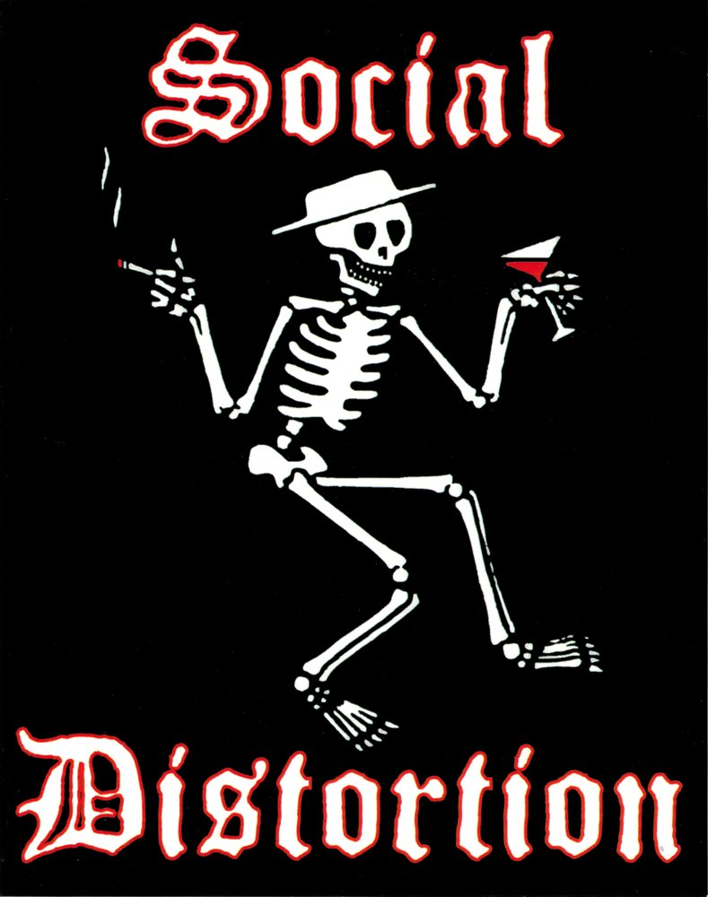 Social Distortion Stickers Band