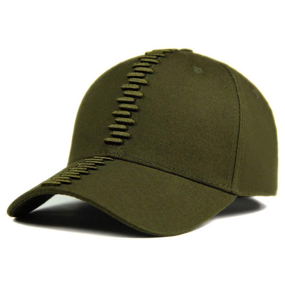 Outdoor Sports hat Baseball Cap Baseball Cap Men Dad Caps Women Hats for Men Bone Fashion Embroidery Cotton Cap Hat GrljdHat (color   ArmyGreen, Size   Adjustable)