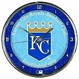 MLB Kansas City Royals Chrome Clock