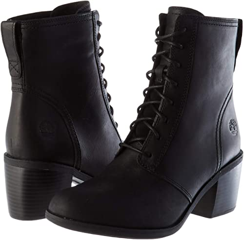 BRYNLEE Black Ankle Boots Shoes from