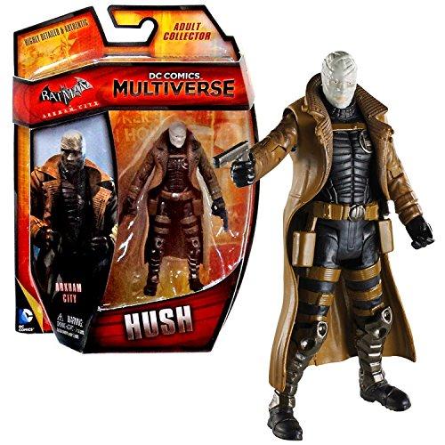 "Mattel Year 2014 DC Comics Multiverse ""Batman Arkham City"" Series 4 Inch Tall Action Figure - Villain Thomas Elliot aka HUSH with 2 Handguns"