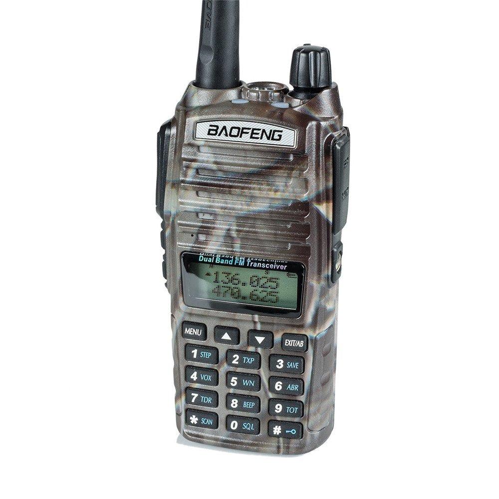 BaoFeng UV-82HP(UV-82 upgrade) Two Way Radios High Power 7 Watt Max Rechargeable Walkie Talkie Hunting Accessories(Camo)