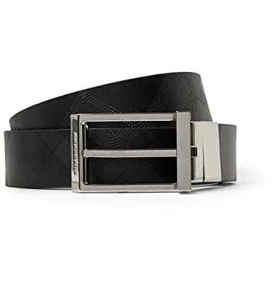 7dd68e3be27f Burberry Shoes   Accessories Reversible 3cm Leather Belt  Amazon.co.uk   Clothing