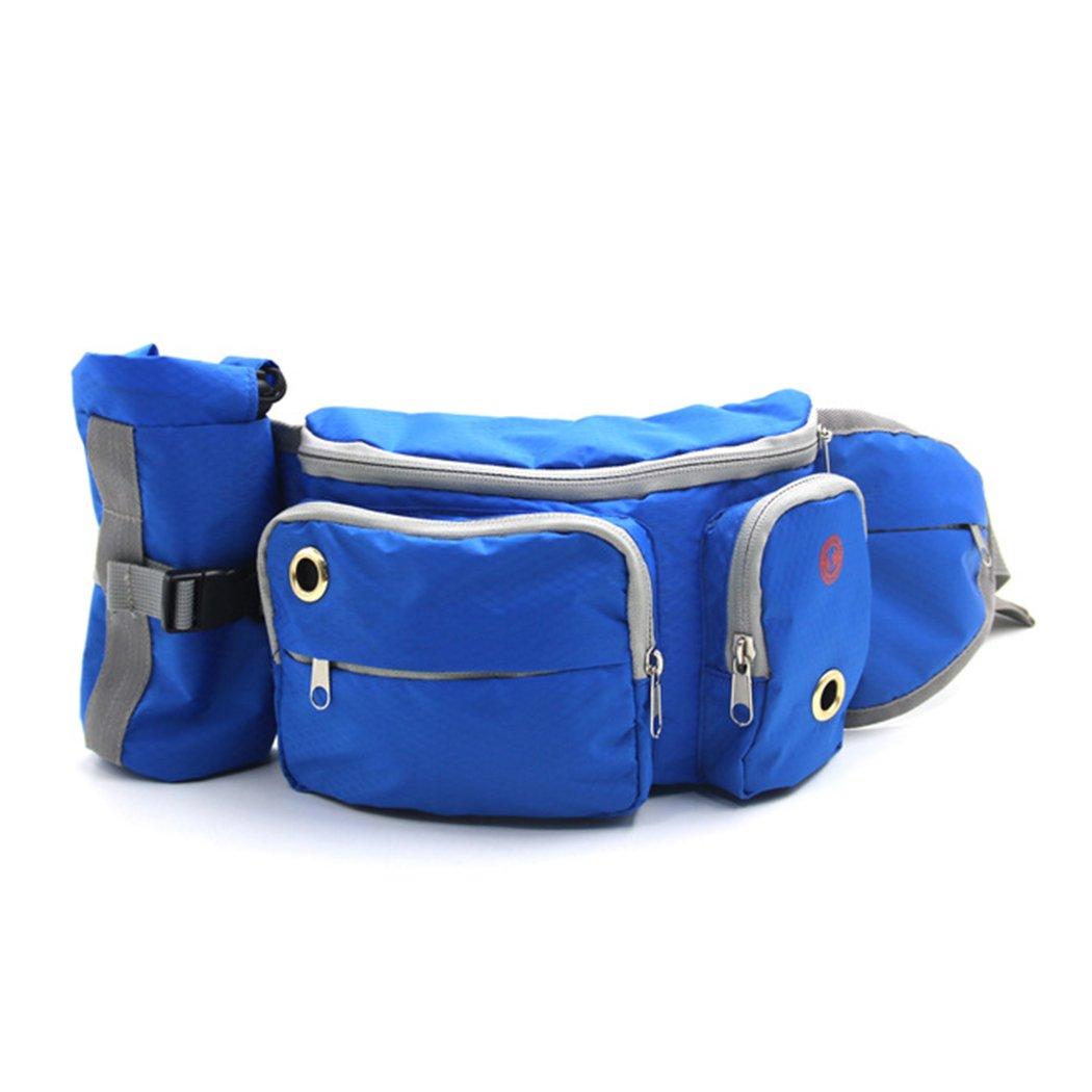 FUNOC Dog Treat Bag Training Pouch Pet Bag Dispenser Hands-Free Puppy Walking Bag