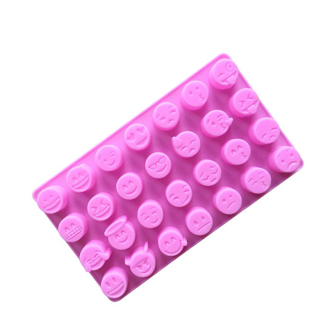 joyliveCY Emoji Silicone Chocolate Candy Jelly Tray Mould