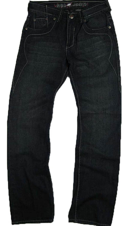 #M1490-N032 Men's Relax Straight Leg Premium Jeans Size: 30