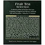 Ahmad Tea Fruit Tea Selection, 20-Count (Pack of 6) 11 Case of six boxes, each containing 20 foil-wrapped tea bags (120 total tea bags) Stimulating tea with a resonant, fruity aroma Enjoy the rare pleasure of a fine English tea
