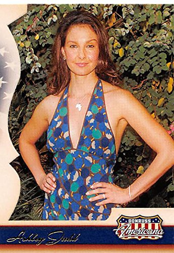 Ashley Judd trading card (Actress, Double Jeopardy) 2007 Donruss Americana - Card Americana 2007 Donruss