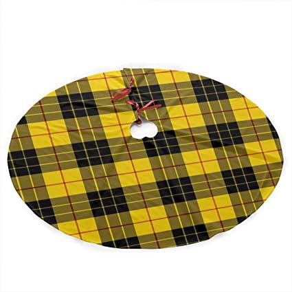 3b4e14f0a2 Image Unavailable. Image not available for. Color: UYnn3r Yellow Gray Black  Plaid Pattern Traditional ...