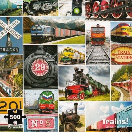 Trains! - 500 Piece Puzzle -
