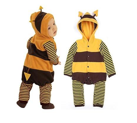 Disfraz de mariquita o abeja para bebé, forro polar, 5-24 meses ...