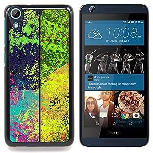 """Qstar Arte & diseño plástico duro Fundas Cover Cubre Hard Case Cover para HTC Desire 626 (Patrón de la salpicadura psicodélico"""")"""