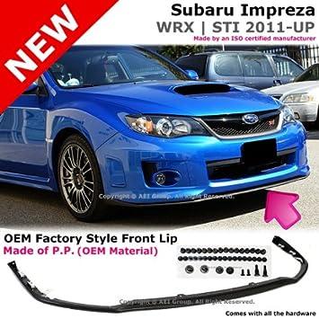 Subaru Impreza WRX STI V Limited S204 2011 To 2012 Poly Urethane Front  Bumper Lip