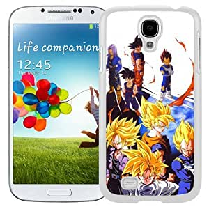 Great Quality Samsung Galaxy S4 I9500 Case ,Beautiful And Unique Designed Case With Dragon Ball Z (2) White Samsung Galaxy S4 Cover Phone Case