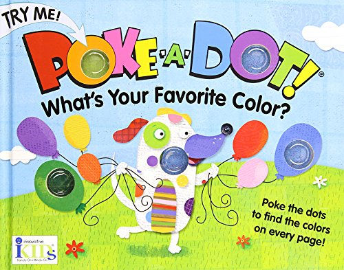 Poke-A-Dot What's Your Favorite Color? , Educational Books Toys, 2017 Christmas Toys